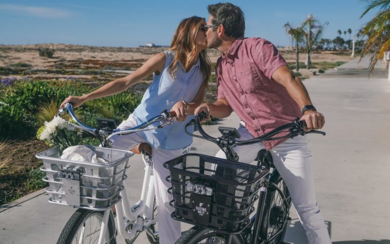 How to Spend Valentine's Day on Your Electric Bike Company Cruiser