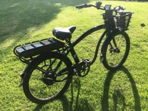 Electric Bike Company's black beauty. Photos by Matt Coker except as indicated